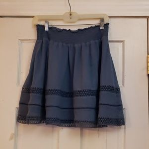 Old Navy .. Navy Blue Skirt  size SP